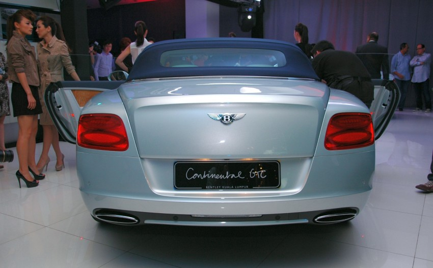 Bentley Continental GT V8 and GTC arrives in Malaysia Image #109764