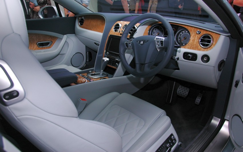 Bentley Continental GT V8 and GTC arrives in Malaysia Image #109762