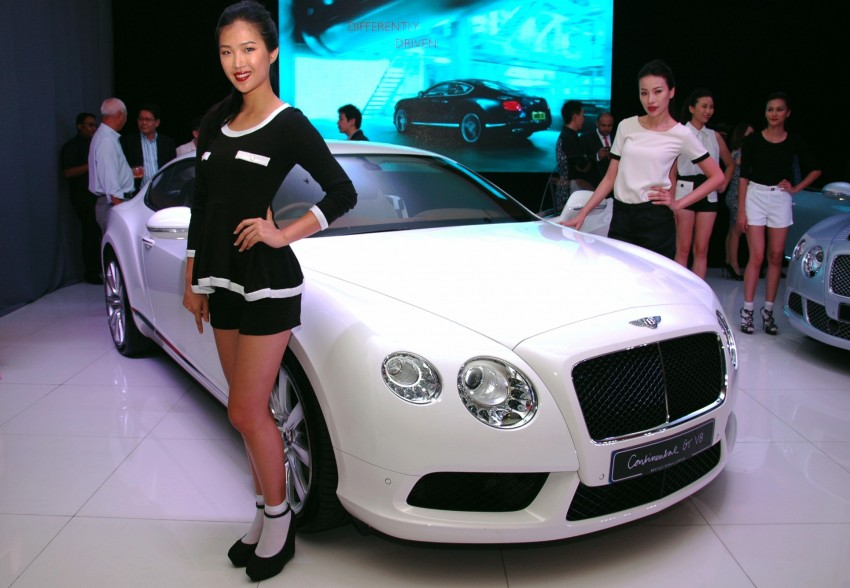 Bentley Continental GT V8 and GTC arrives in Malaysia Image #109761