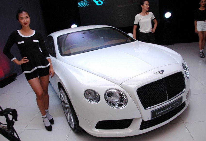 Bentley Continental GT V8 and GTC arrives in Malaysia Image #109759