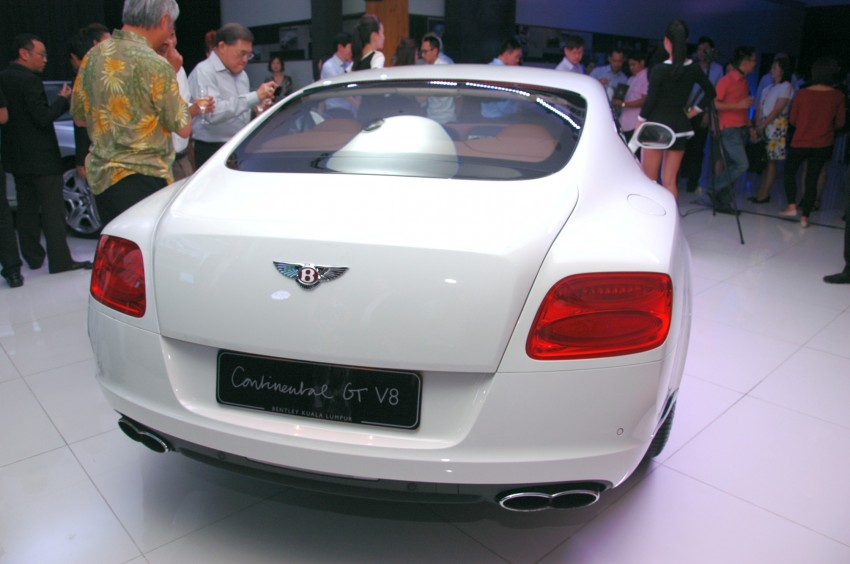 Bentley Continental GT V8 and GTC arrives in Malaysia Image #109753