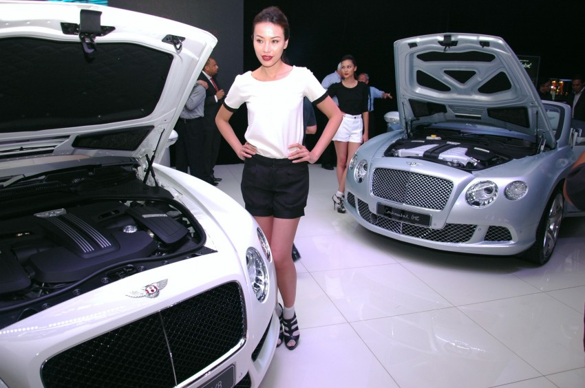 Bentley Continental GT V8 and GTC arrives in Malaysia Image #109746