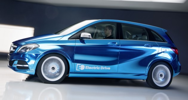 benz b-class electric drive