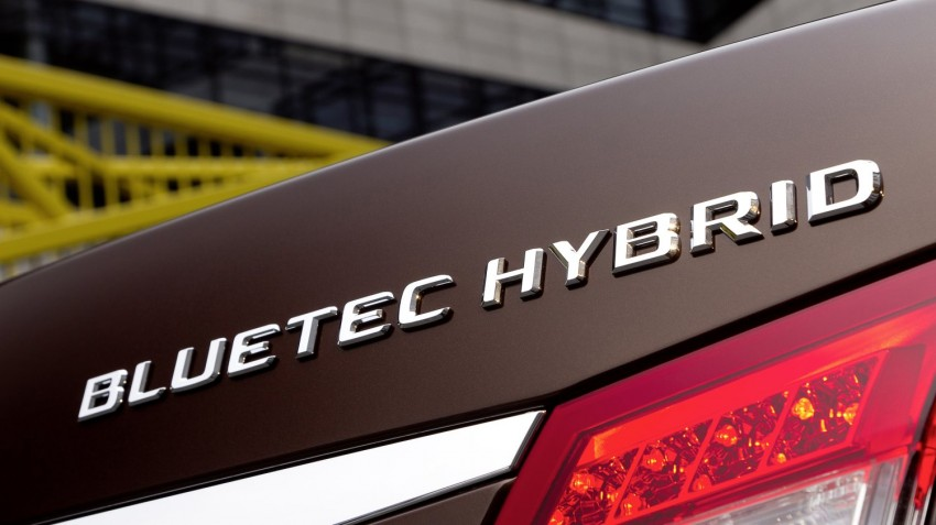 Mercedes-Benz E300 BlueTEC Hybrid introduced, in both saloon and estate form – E400 Hybrid also debuts Image #81224