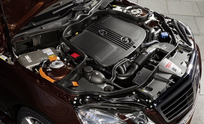 Mercedes-Benz E300 BlueTEC Hybrid introduced, in both saloon and estate form – E400 Hybrid also debuts Image #81227