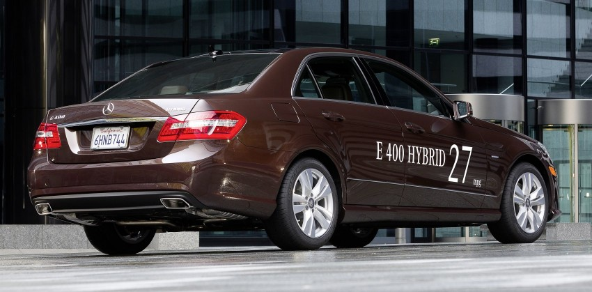 Mercedes-Benz E300 BlueTEC Hybrid introduced, in both saloon and estate form – E400 Hybrid also debuts Image #81214