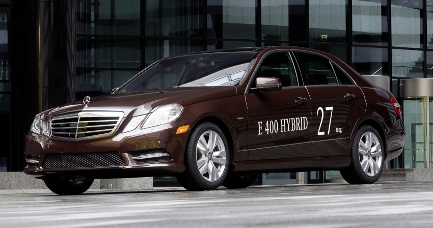 Mercedes-Benz E300 BlueTEC Hybrid introduced, in both saloon and estate form – E400 Hybrid also debuts Image #81215