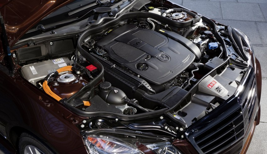 Mercedes-Benz E300 BlueTEC Hybrid introduced, in both saloon and estate form – E400 Hybrid also debuts Image #81217