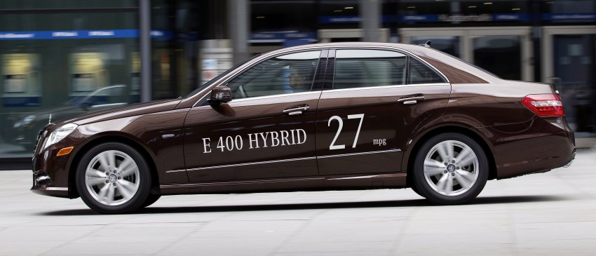 Mercedes-Benz E300 BlueTEC Hybrid introduced, in both saloon and estate form – E400 Hybrid also debuts Image #81219