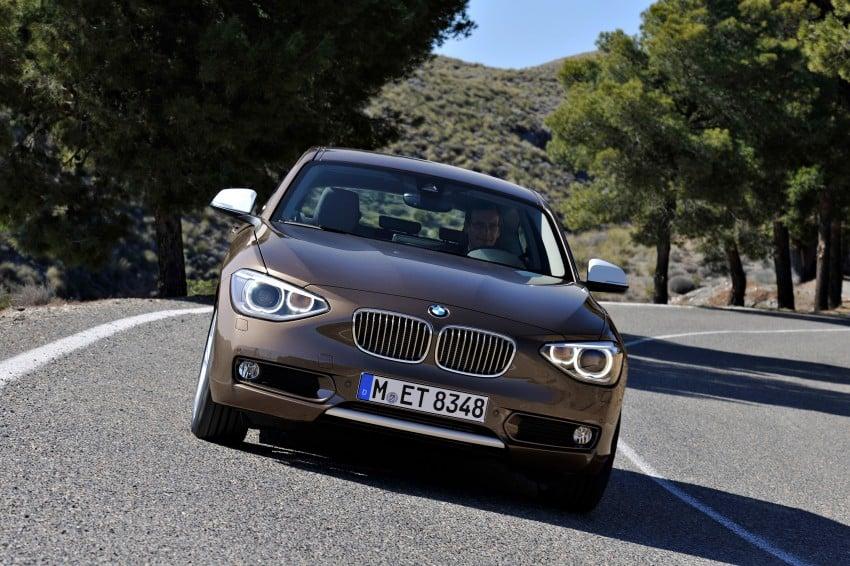 BMW 114i debuts with 3-door BMW 1-Series hatch body Image #106064