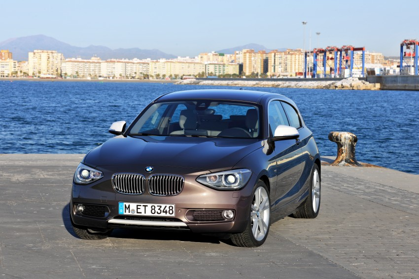 BMW 114i debuts with 3-door BMW 1-Series hatch body Image #106074