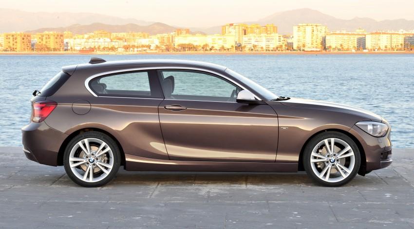 BMW 114i debuts with 3-door BMW 1-Series hatch body Image #106081