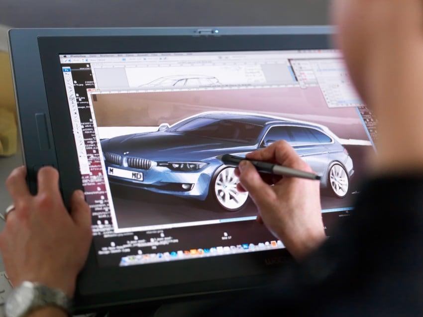 F31 BMW 3-Series Touring body makes world debut! Image #105972