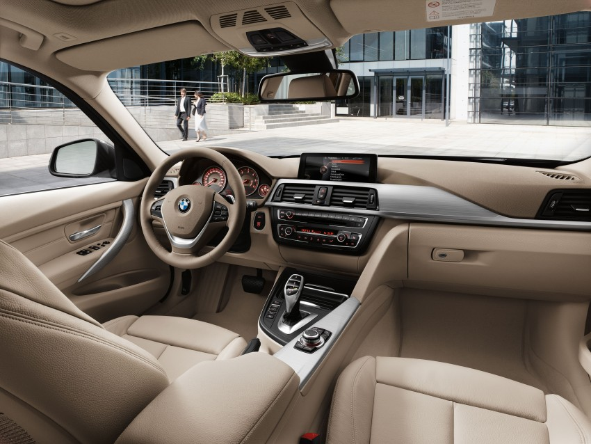 F31 BMW 3-Series Touring body makes world debut! Image #106017