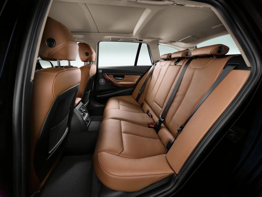 F31 BMW 3-Series Touring body makes world debut! Image #105984