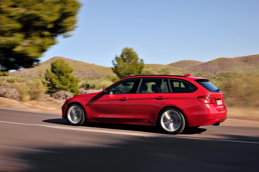F31 BMW 3-Series Touring body makes world debut! Image #105990