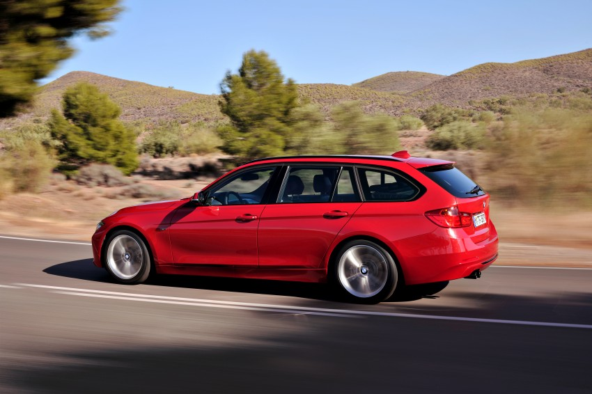 F31 BMW 3-Series Touring body makes world debut! Image #105991