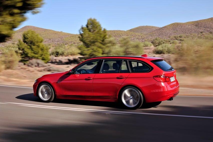 F31 BMW 3-Series Touring body makes world debut! Image #105991