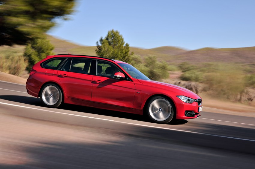 F31 BMW 3-Series Touring body makes world debut! Image #105993
