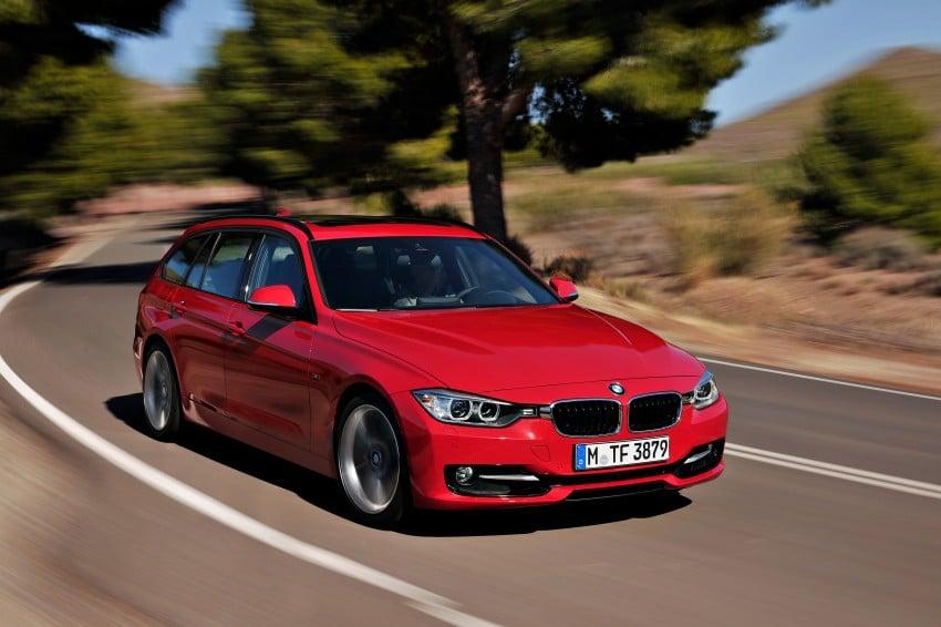 F31 BMW 3-Series Touring body makes world debut! Image #105994