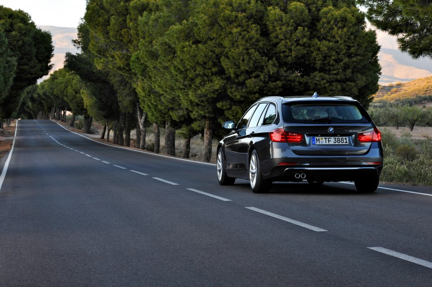 F31 BMW 3-Series Touring body makes world debut! Image #106006