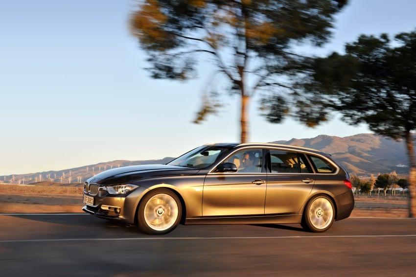 F31 BMW 3-Series Touring body makes world debut! Image #106009