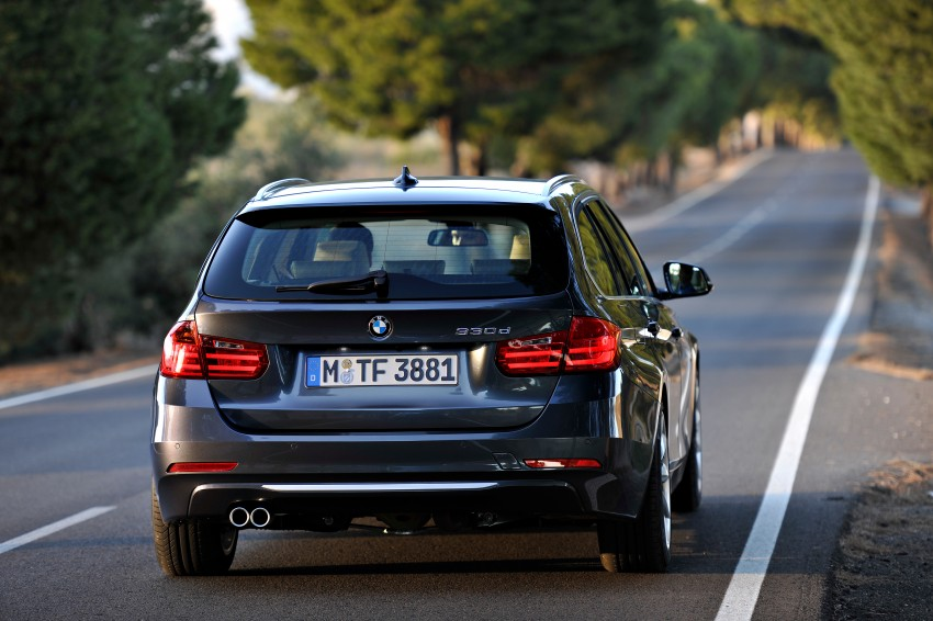F31 BMW 3-Series Touring body makes world debut! Image #105965