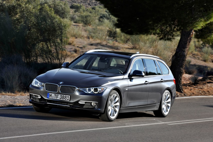 F31 BMW 3-Series Touring body makes world debut! Image #105967
