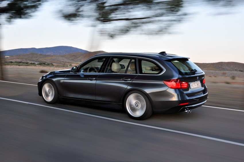 F31 BMW 3-Series Touring body makes world debut! Image #105968