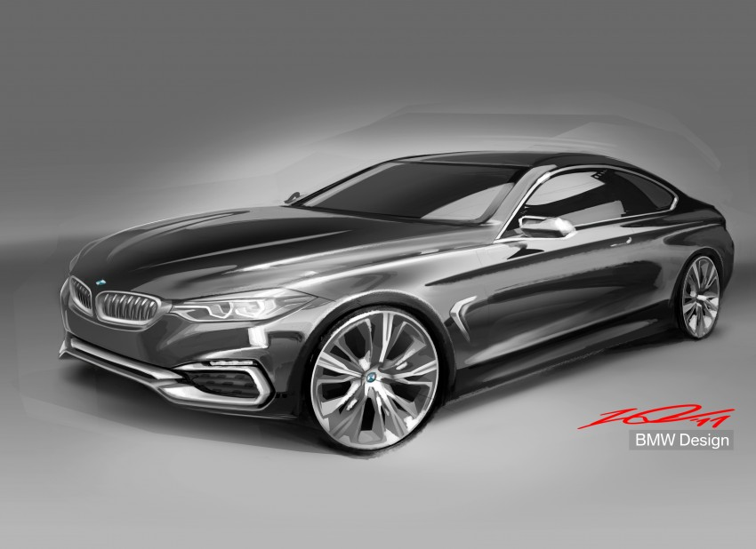 BMW Concept 4-Series Coupe F32 previewed! Image #144640