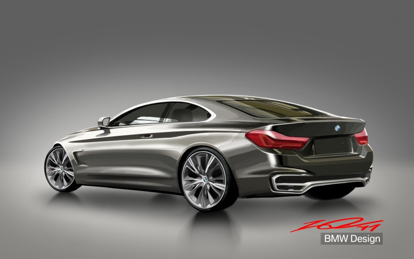 BMW Concept 4-Series Coupe F32 previewed! Image #144647