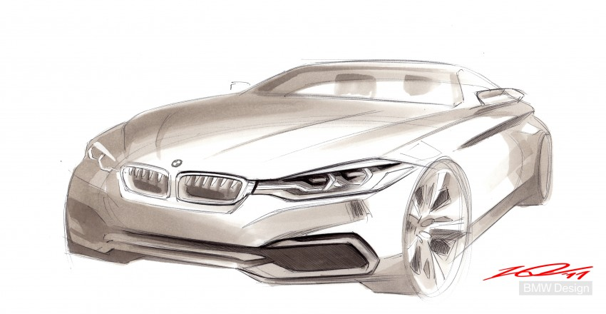 BMW Concept 4-Series Coupe F32 previewed! Image #144648