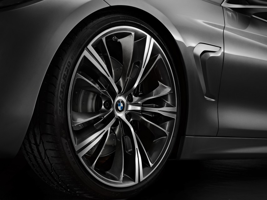 BMW Concept 4-Series Coupe F32 previewed! Image #144653