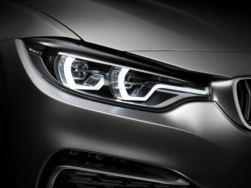 BMW Concept 4-Series Coupe F32 previewed! Image #144654