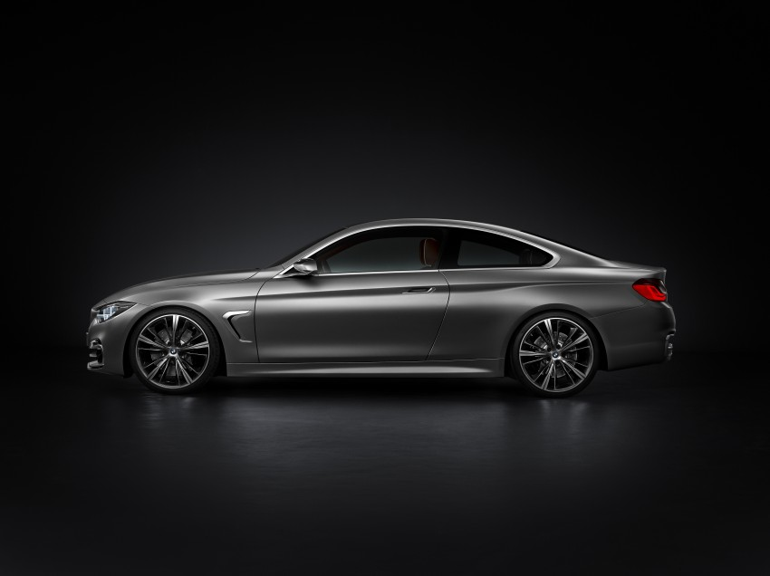 BMW Concept 4-Series Coupe F32 previewed! Image #144659