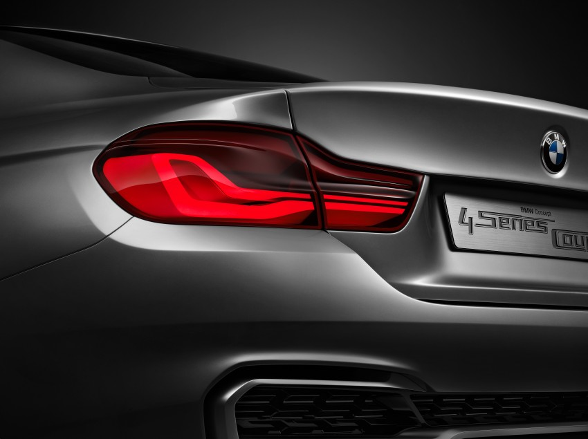 BMW Concept 4-Series Coupe F32 previewed! Image #144660