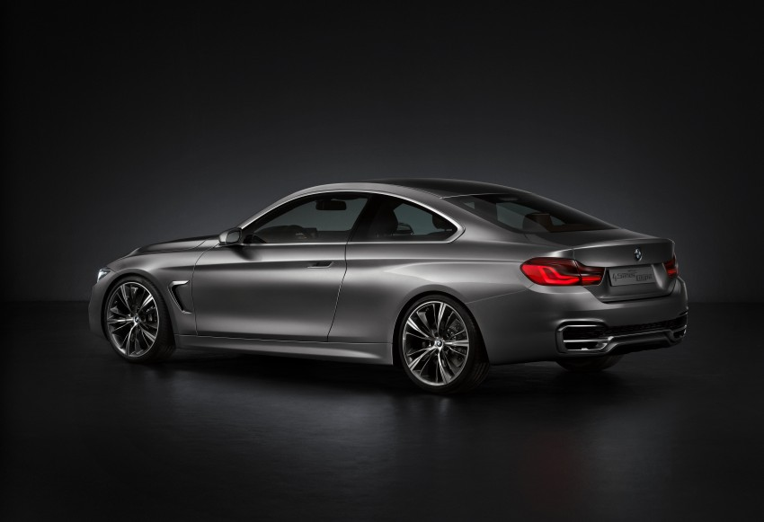 BMW Concept 4-Series Coupe F32 previewed! Image #144661