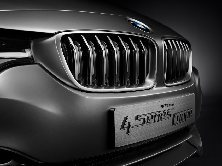 BMW Concept 4-Series Coupe F32 previewed! Image #144663