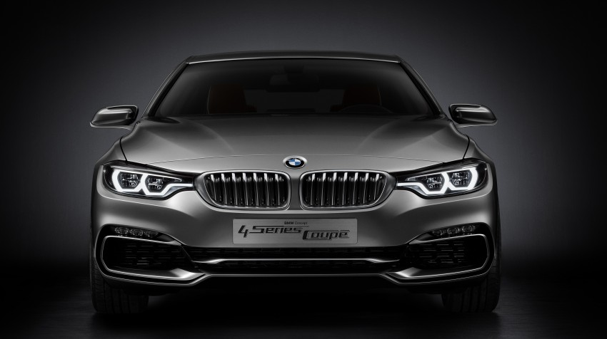 BMW Concept 4-Series Coupe F32 previewed! Image #144665