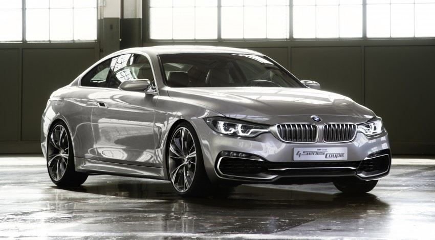 BMW Concept 4-Series Coupe F32 previewed! Image #144666