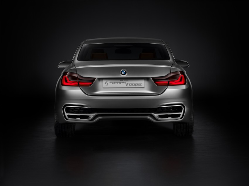 BMW Concept 4-Series Coupe F32 previewed! Image #144667