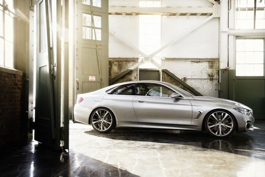 BMW Concept 4-Series Coupe F32 previewed! Image #144668