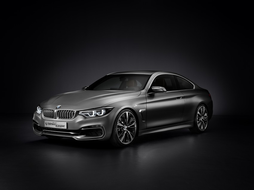 BMW Concept 4-Series Coupe F32 previewed! Image #144669