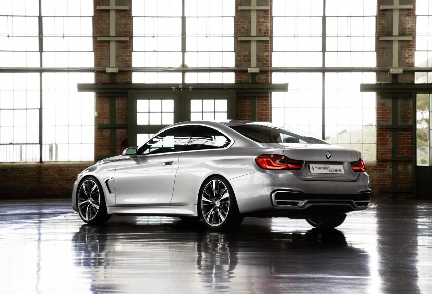 BMW Concept 4-Series Coupe F32 previewed! Image #144670