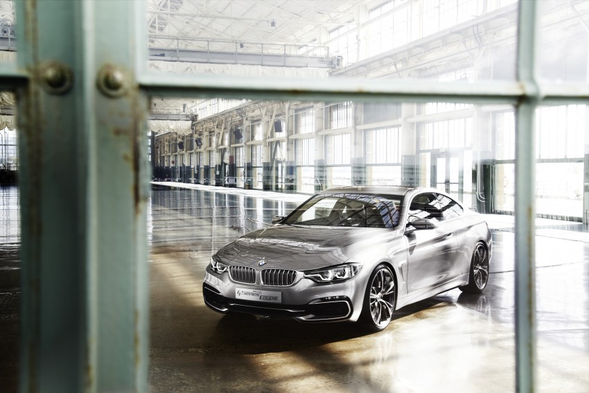 BMW Concept 4-Series Coupe F32 previewed! Image #144671