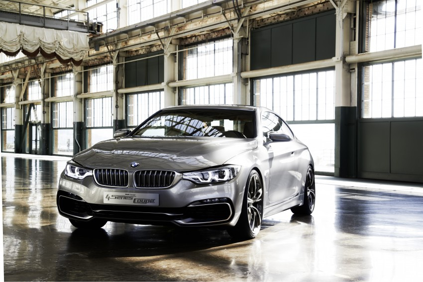 BMW Concept 4-Series Coupe F32 previewed! Image #144672