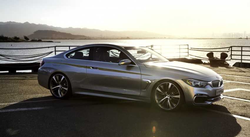 BMW Concept 4-Series Coupe F32 previewed! Image #144673