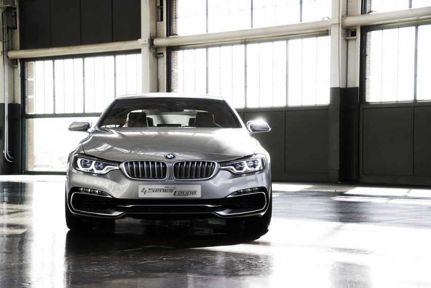 BMW Concept 4-Series Coupe F32 previewed! Image #144674