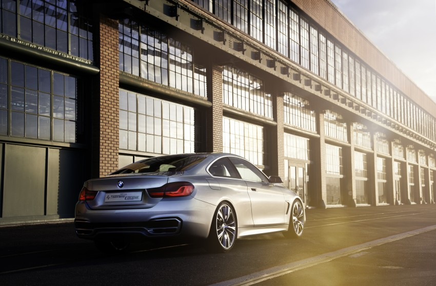BMW Concept 4-Series Coupe F32 previewed! Image #144675