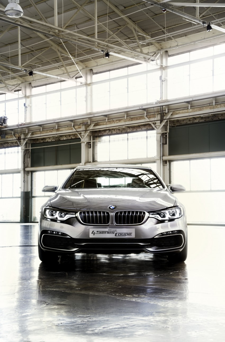 BMW Concept 4-Series Coupe F32 previewed! Image #144676